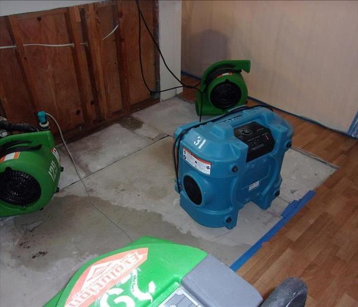 Water Damage in Kitchen in a Home in Santa Rosa